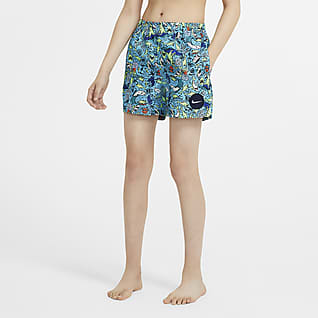 Nike Shark Zwembroek voor jongens (10 cm)