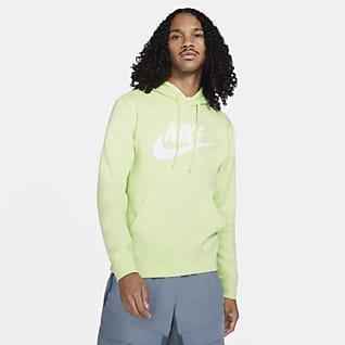 Nike Sportswear Club Fleece Hoodie pullover com grafismo para homem