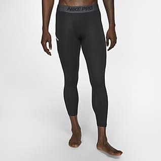 Nike Pro Tights de basquetebol a 3/4 para homem