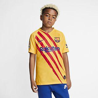 FC Barcelona Stadium Fourth Fotbollströja för ungdom