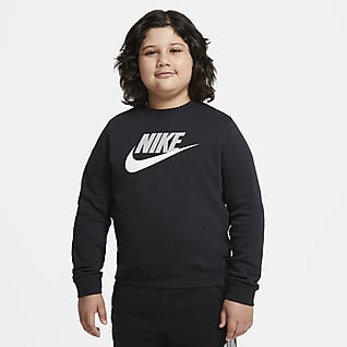 Nike Sportswear Club Fleece Big Kids' (Boys') Crew (Extended Size)