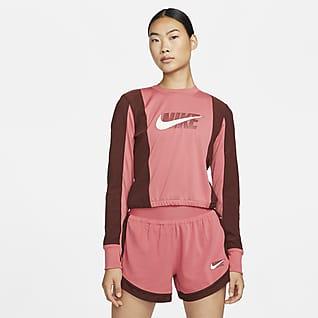 Nike Dri-FIT Icon Clash เสื้อวิ่งมิดเลเยอร์ผู้หญิง