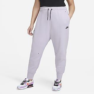 Nike Sportswear Tech Fleece Γυναικείο παντελόνι (μεγάλα μεγέθη)