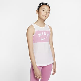 Nike Tréninkové tílko pro větší děti (dívky)