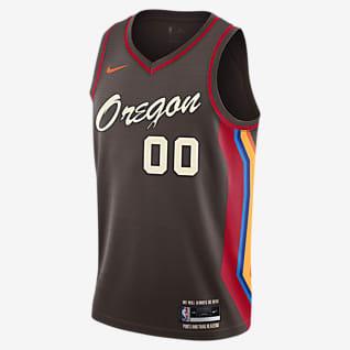 波特兰开拓者队 City Edition Nike NBA Swingman Jersey 男子球衣