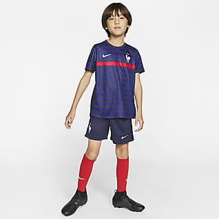 Primera equipació FFF 2020 Equipació de futbol - Nen/a petit/a