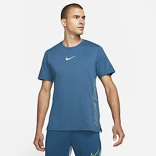 Nike Pro Dri-FIT Burnout Kortærmet overdel til mænd