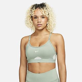 Nike Dri-FIT Indy Women's Light-Support Padded U-Neck Sports Bra