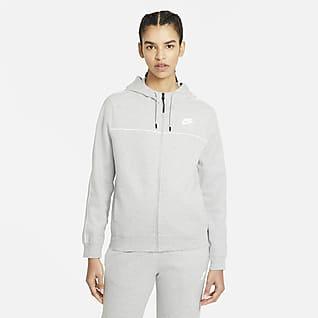Nike Sportswear Felpa con cappuccio e zip a tutta lunghezza - Donna