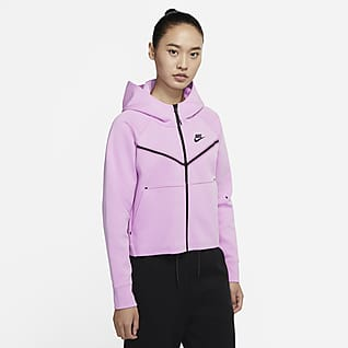 Nike Sportswear Tech Fleece Windrunner 女子全长拉链开襟连帽衫