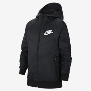 Nike Sportswear Big Kids' (Boys') Hooded Jacket