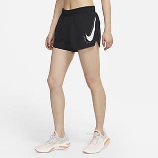 Nike Dri-FIT Swoosh Run 女款跑步短褲