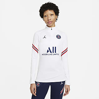 Paris Saint-Germain Strike Fotbollsträningströja Nike Dri-FIT för kvinnor