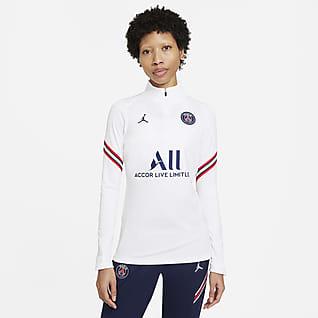 Paris Saint-Germain Strike Prenda para la parte superior de entrenamiento de fútbol Nike Dri-FIT para mujer