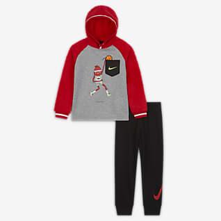 Nike Little Kids' Hoodie and Joggers Set