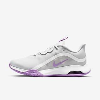NikeCourt Air Max Volley Женская теннисная обувь для игры на кортах с твердым покрытием