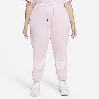 Nike Sportswear Swoosh Pantalones de entrenamiento Easy Fleece para mujer