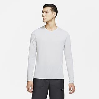 Nike Miler Run Division Langarm-Laufoberteil für Herren