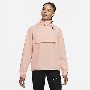 Nike Dri-FIT Run Division Packbar löparjacka som går att dra på sig för kvinnor