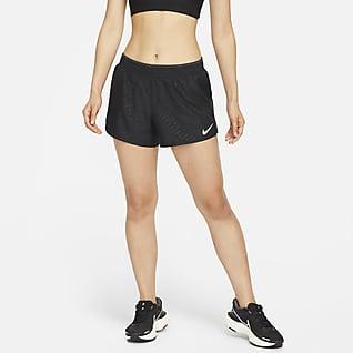 Nike Dri-FIT 10K Icon Clash กางเกงวิ่งขาสั้นผู้หญิง