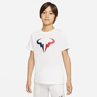 NikeCourt Dri-FIT Rafa Big Kids' (Boys') Tennis T-Shirt