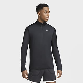 Nike Dri-FIT Hardlooptop met halflange rits voor heren