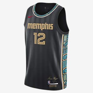Memphis Grizzlies City Edition Nike NBA Swingman Jersey