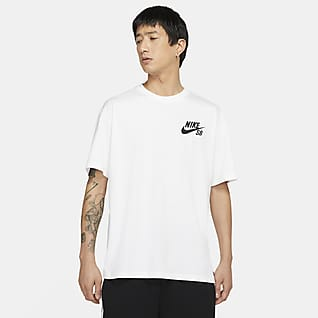Nike SB T-shirt de skateboard com logótipo