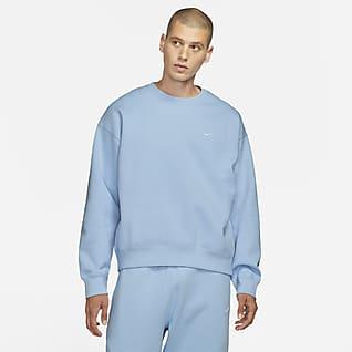NikeLab Kerek nyakkivágású polár pulóver