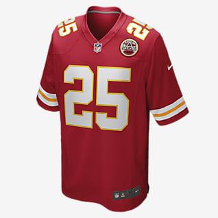 NFL Kansas City Chiefs (Clyde Edwards-Helaire) Men's Game Football Jersey