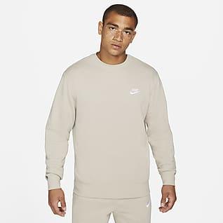 Nike Sportswear Club Ανδρικό crew από ύφασμα French Terry