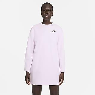 Nike Sportswear Tech Fleece Vestido de manga larga para mujer