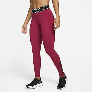 Nike Pro Dri-FIT Leggings de cintura normal com grafismo para mulher
