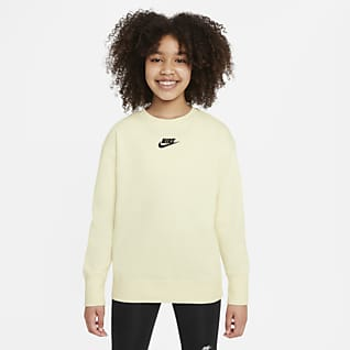 Nike Sportswear Club Fleece 大童(女孩)圆领运动上衣