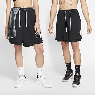 Elite basketshorts med grafikk for store barn (gutt)