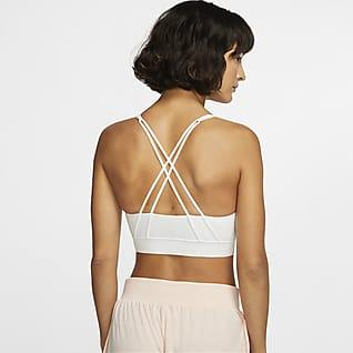 Nike Swoosh Luxe Women's Medium-Support Padded Longline Sports Bra