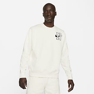 Nike Sportswear Kerek nyakkivágású férfi melegítőfelső