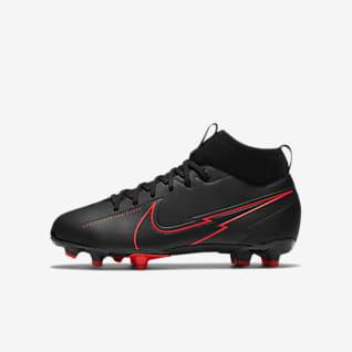 Nike Jr. Mercurial Superfly 7 Academy MG Fodboldstøvle til børn (flere typer underlag)