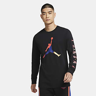 Jordan Sport DNA langermet genser med rund hals til herre
