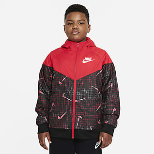 Nike Sportswear Windrunner Big Kids' (Boys') Jacket (Extended Size)