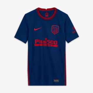 Atlético de Madrid 2020/2021 Stadium Away Fotballdrakt til store barn