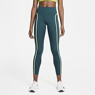 Nike One Luxe Icon Clash Leggings de 7/8 de tiro medio para mujer