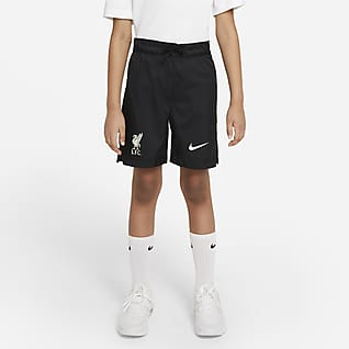 Liverpool FC Shorts de tejido Woven para niños talla grande