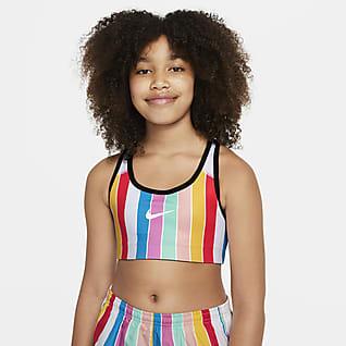 Nike Big Kids' (Girls') Reversible Sports Bra