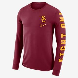 Nike College Dri-FIT Mantra (USC) Men's Long-Sleeve T-Shirt