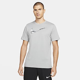 Nike Dri-FIT Męski T-shirt treningowy z nadrukiem
