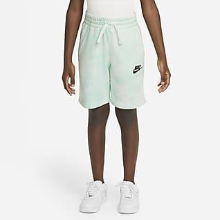 Nike Sportswear Magic Club Shorts tie-dye para niños talla grande