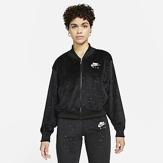 Nike Air Damenjacke aus Velours