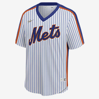 MLB New York Mets (Mike Piazza) Men's Cooperstown Baseball Jersey