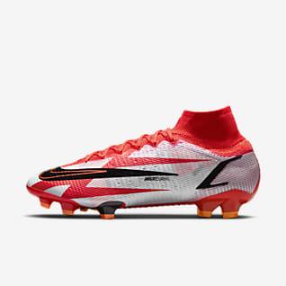 Nike Mercurial Superfly 8 Elite CR7 FG รองเท้าสตั๊ดฟุตบอลสำหรับพื้นสนามทั่วไป